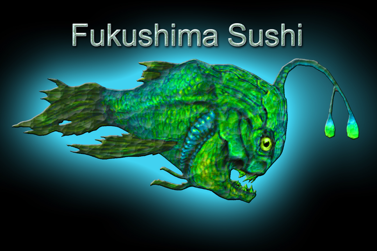 Fukushima sushi anyone sciencegirl for Pacific ocean radiation fish